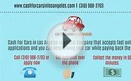 Cash for Cars in Los Angeles