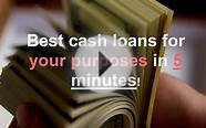 Cash in advance loans