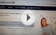 cashloan.me for personal cash loans, paydayloans and cash