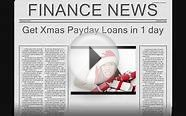 Christmas Cash Advance Payday Loans in 24hrs