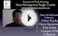 Commercial Truck Financing - For Bad Credit