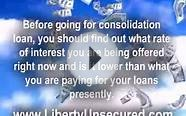 Consolidation Loan How To Get A Good Deal.
