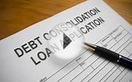 Debt Consolidation Loans Bad Credit