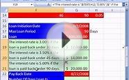 Excel Magic Trick #113: Nested IF & Short Term Loans