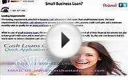 Fast Business Cash Advance Loans