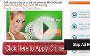 fast cash today no credit check