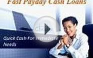 Fast Payday Cash Advance Loan - Quick Cash For Immediate Needs