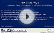 FHA loan after a foreclosure in Nashville TN