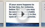Free Online Credit Scores Check - Get Yours Now