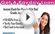 Get A Payday Loan- Quick Cash Help Without a Fax