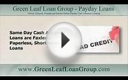 Get Approved For Same Day Cash Advance Loans even with Bad