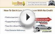 Getting a Car Loan with No Credit History
