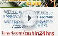 Guaranteed Online Personal Loans - Cash In 24hrs