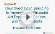 How Direct Loan Servicing is Improving the Financial Aid