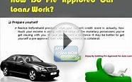 How Do Pre Approved Car Loans Work Online