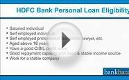 How to apply for a HDFC Bank Personal Loan