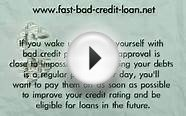 How to find a online personal loan with bad credit and no