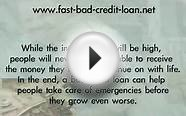 How to get a guranteed bad credit short term loan