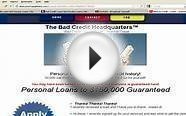 HOW TO GET A LOAN WITH BAD CREDIT | PERSONAL LOANS FOR BAD