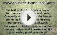 How To Get A Quick Online Cash Loan