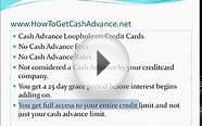 How to get a REAL Cash Advance No Payday loans