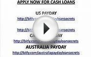 HOW TO GET QUICK PAYDAY CASH LOANS NOW