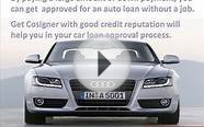 How to get unemployment auto loans