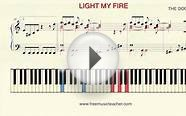 "How To Play Piano: ""Light My Fire"" The Doors"