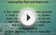 How To Receive Cash Advance Loans With Bad Credit