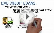 Important Things To Know About Bad Credit Loans