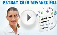 installment loans to pay off payday loans