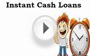 Instant Cash Loans- Get Cash Advances For Urgent Crisis