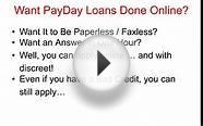 Instant Cash Loans Till Payday -Bad Credit OK