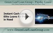 Instant Cash Loans—Elite Loans for People in Need