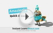 Instant Loans Direct broadcast ad.