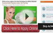 instant payday loan direct lender no credit check