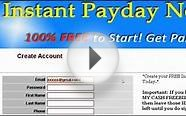 Instant Payday Network Setup Guide Pt. 4 -Setting Up Your