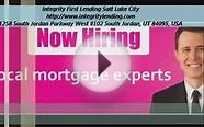 Integrity First Lending Salt Lake City Mortgage Loans Utah