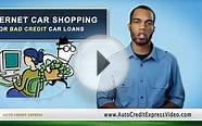 Internet Car Shopping and Bad Credit Auto Loans