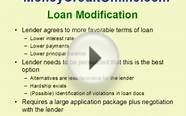 Loan Modification - how to lower payments and interest rate
