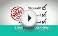 Loan Ranger Cash Loans - Australian TV Ad (HD)