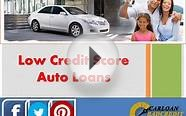 Low Credit Score Car Loans - Buying a Car with Low Credit