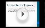 Low-interest loan