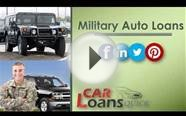 military bad credit car loans