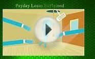 Mortgage Loans Payday Loans Explained Pew