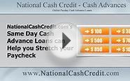 Need Cash Now? Apply for Same Day Cash Advance Loans and
