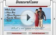 No Credit Check Unsecured Loans