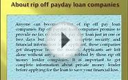 No fax no teletrack payday loans: Avoid rip off payday loans