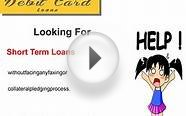 No Fee Debit Card Loans - Get Cash Help for Your Financial