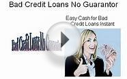 No Guarantor Loans for Bad Credit, Payday Loans